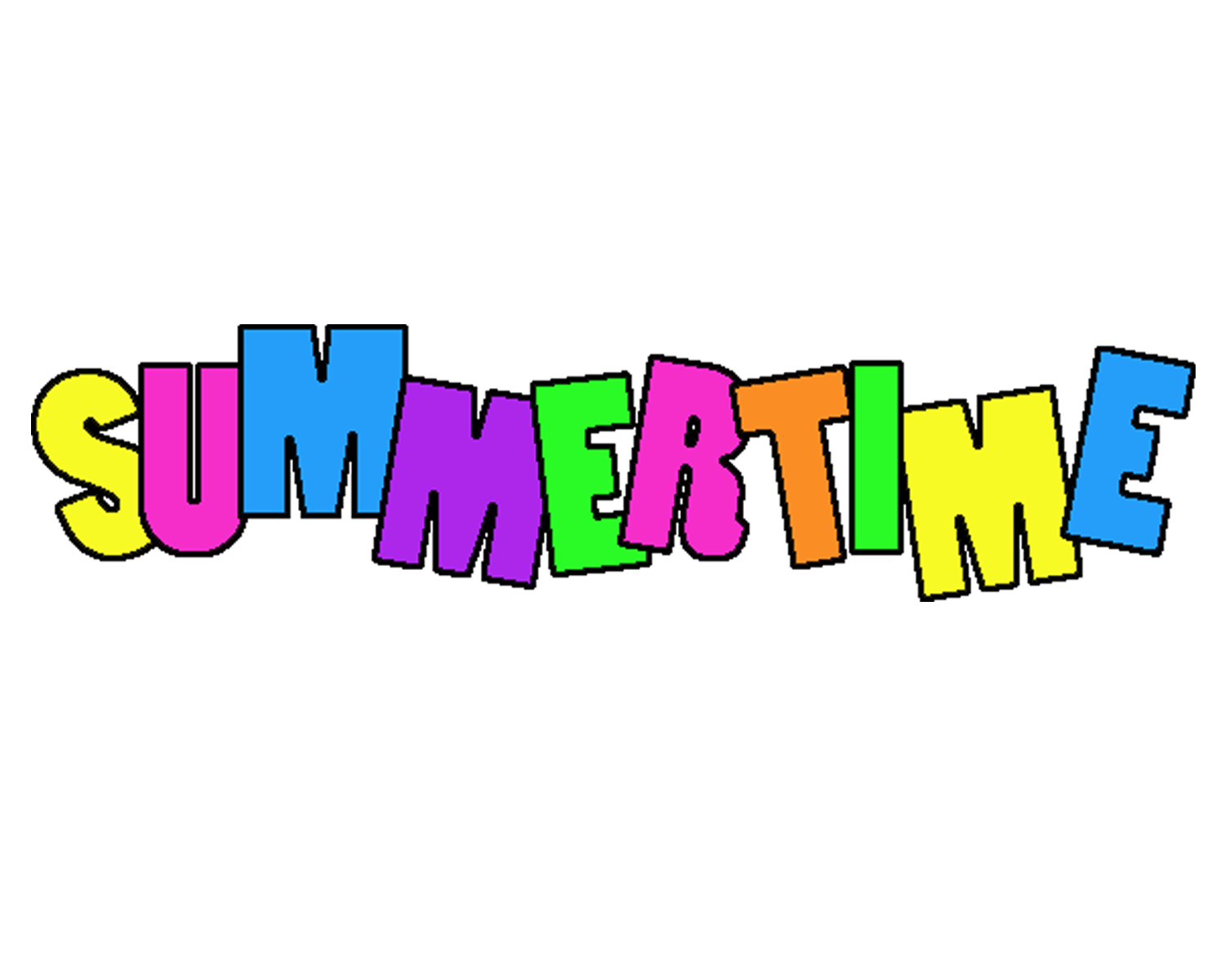Summer Time Clip Art - Cliparts.co