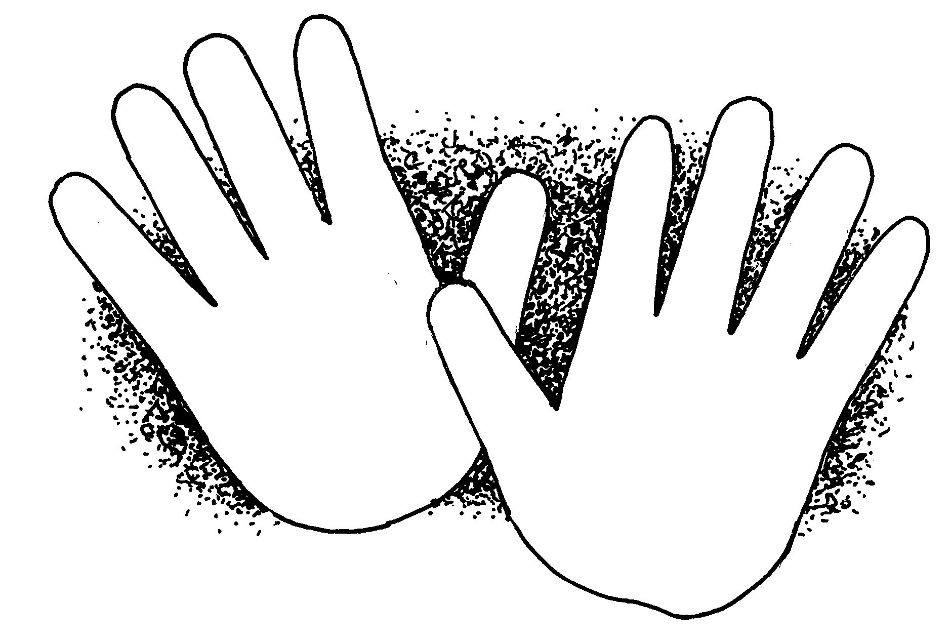 children hands clipart - photo #38