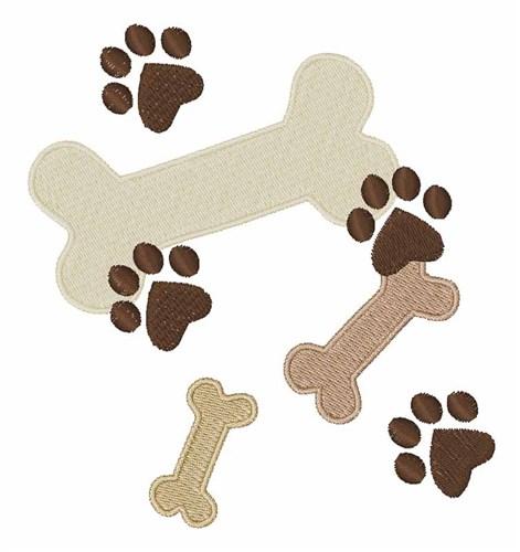 Dog Bone Background - Cliparts.co