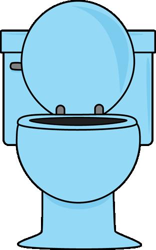 Toilet cartoon clipart