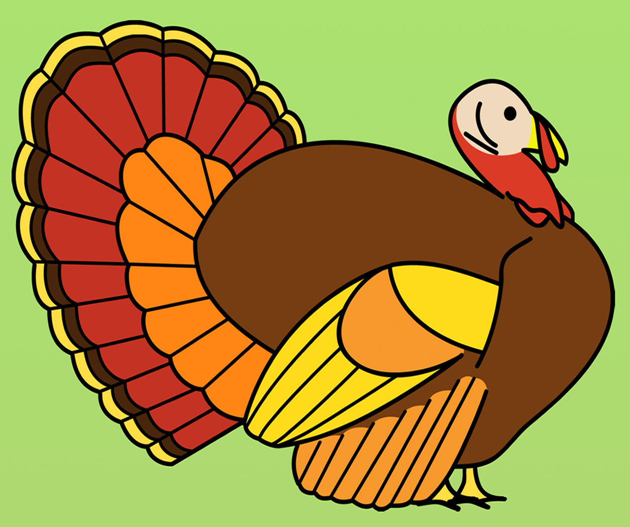 Images For > Turkey Clip Art
