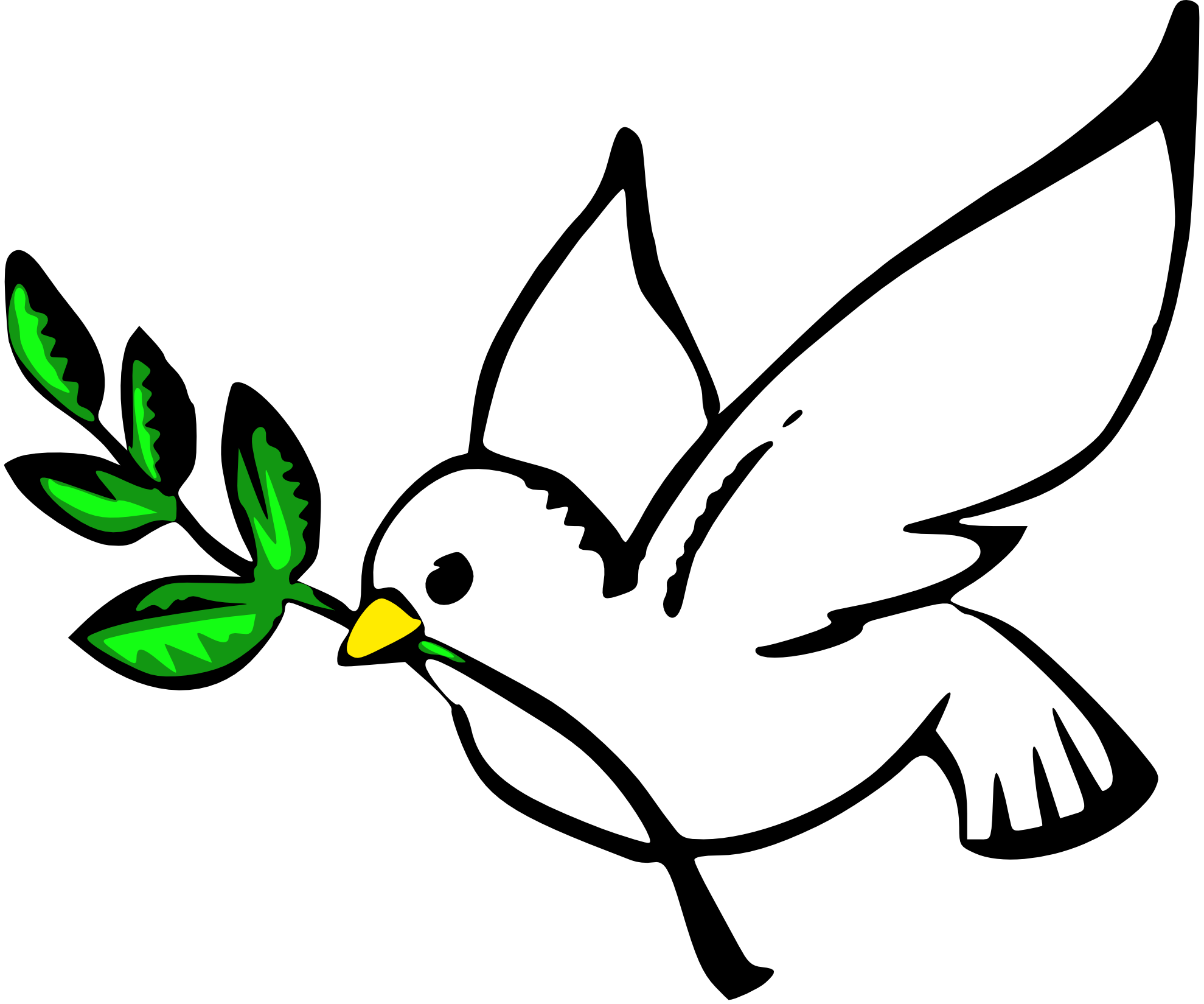 Dove Peace Christmas Xmas Peace on Earth Peace Symbol Sign ...