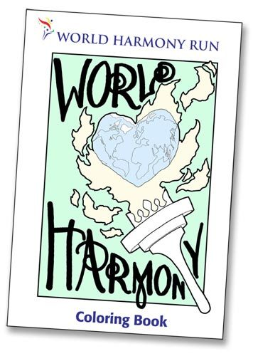 Coloring Book for Download | World Harmony Run