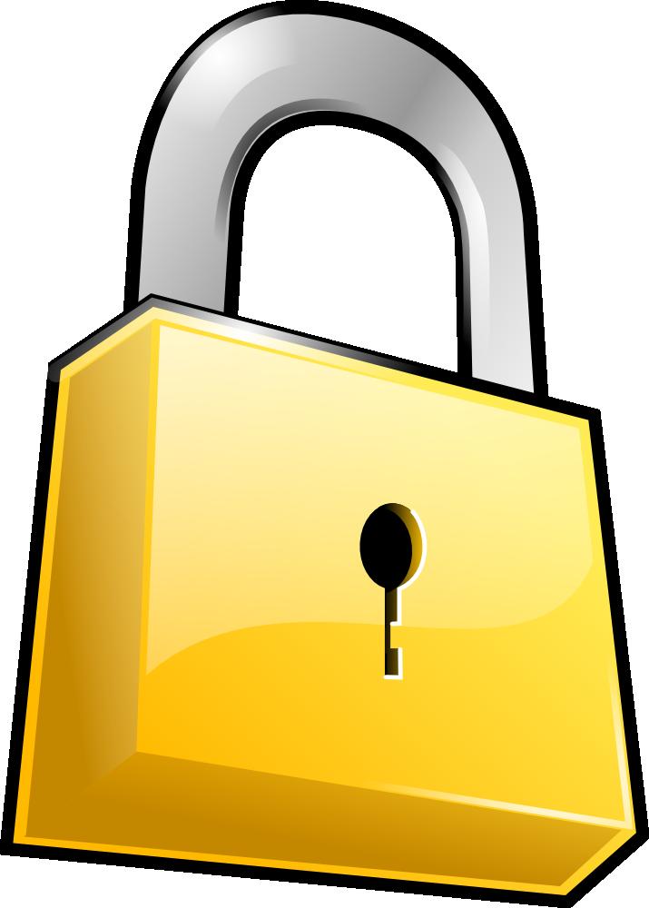 Computer security clip art cliparts