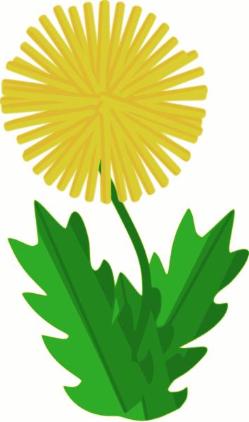 Dandelion clip art - vector clip art online, royalty free & public ...: cliparts.co/weed-clip-art