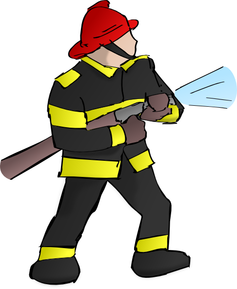 Free to Use & Public Domain Fireman Clip Art
