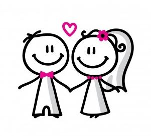 Wedding Couple Clipart - Cliparts.co