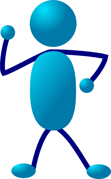 Stick Man Thinking clip art - vector clip art online, royalty free ...