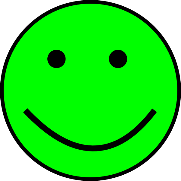 Happy Smiling Face clip art - vector clip art online, royalty free ...