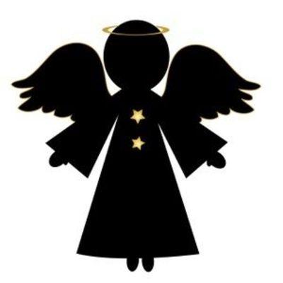 Angel Silhouette Clip Art - Cliparts.co
