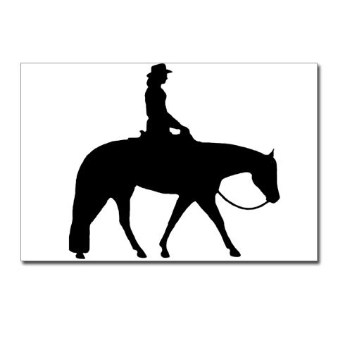 Western Horse Riding Clipart Western Pleasur...