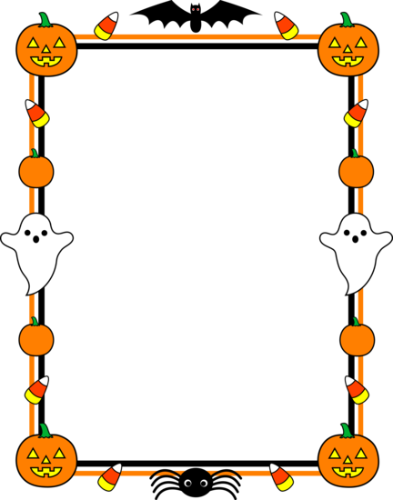 69 Images Of Halloween Page Borders You Can Use These Free Cliparts