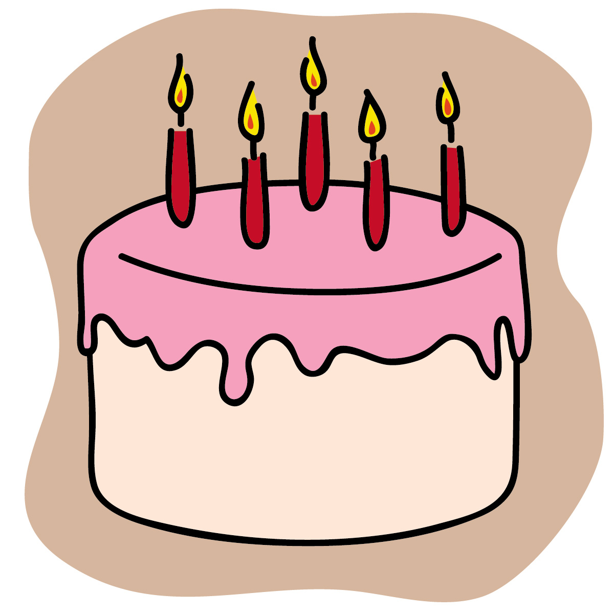 Free Birthday Cake Clip Art   Clipart Panda - Free Clipart Images