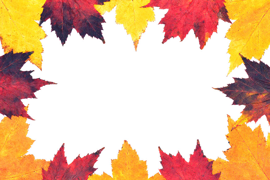Fall Leaves Border Clip Art Free - Cliparts.co