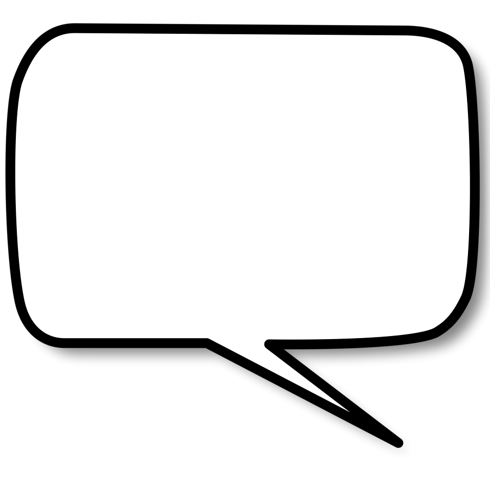 Speech Bubble (transparent) - Cliparts co