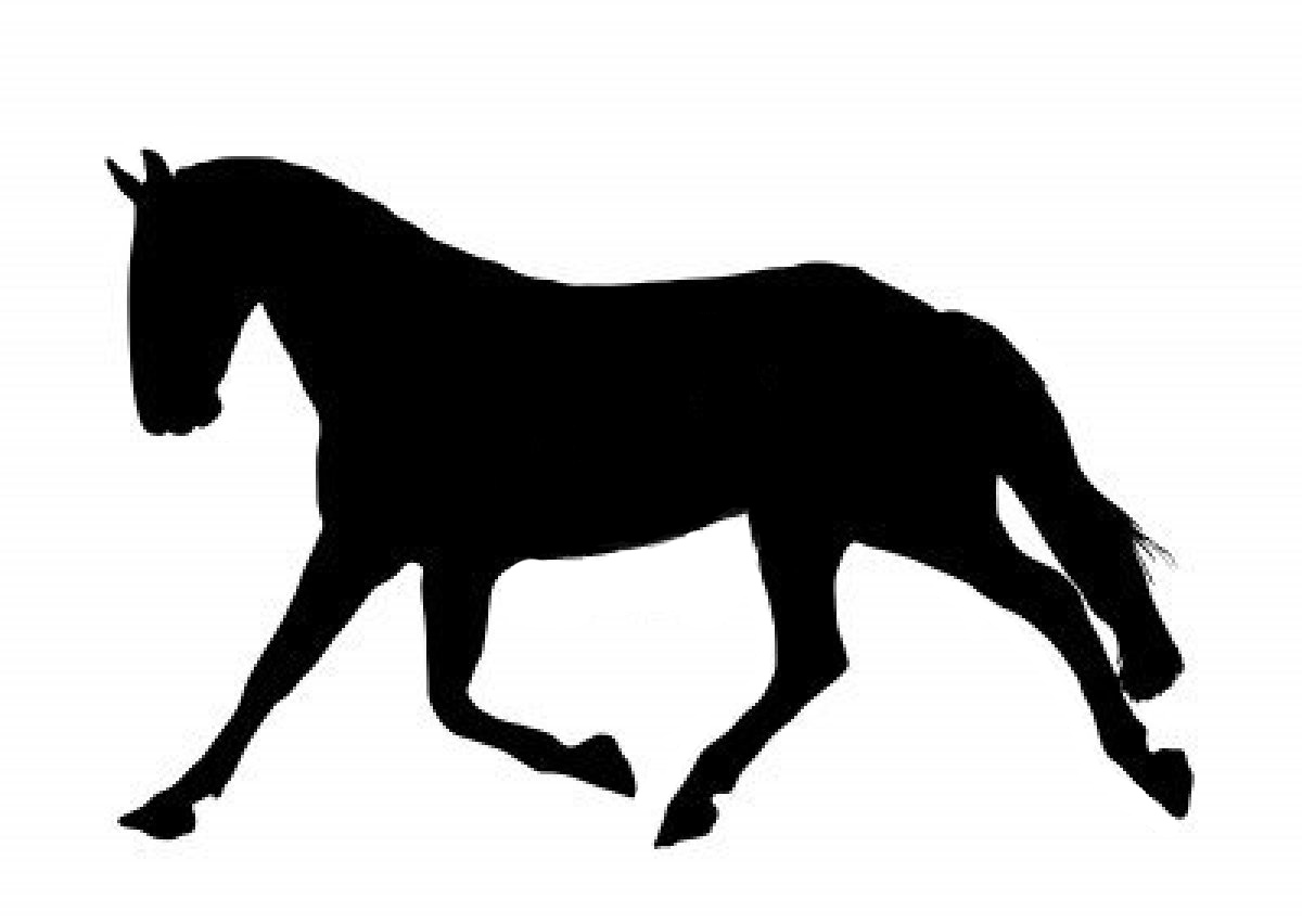 Horse Sillhouette - Cliparts.co