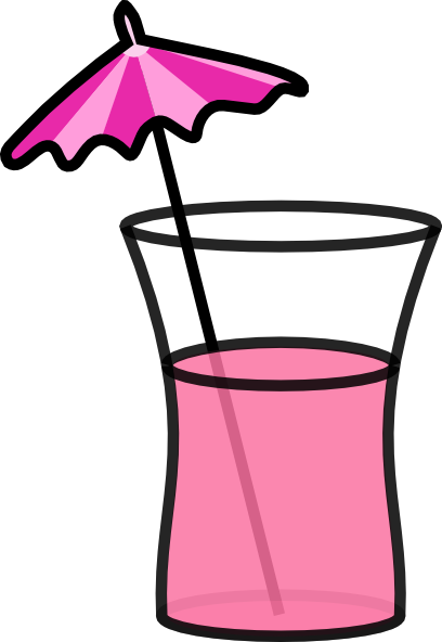 Cocktail Glass Animation Pink - ClipArt Best