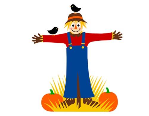 scarecrow hat clipart - photo #31