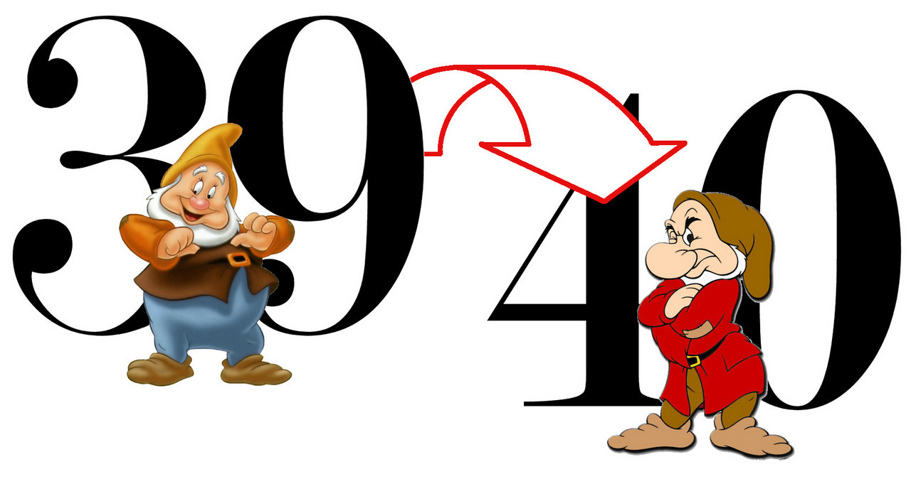 40th Birthday Clip Art - Cliparts.co