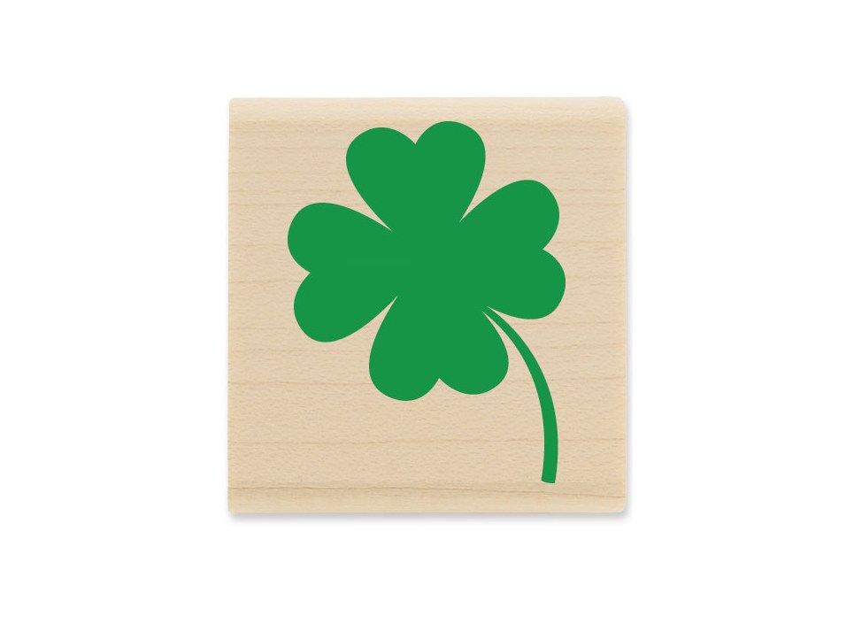 Stampabilities Four Leaf Clover Rubber Stamp | Shop Hobby Lobby