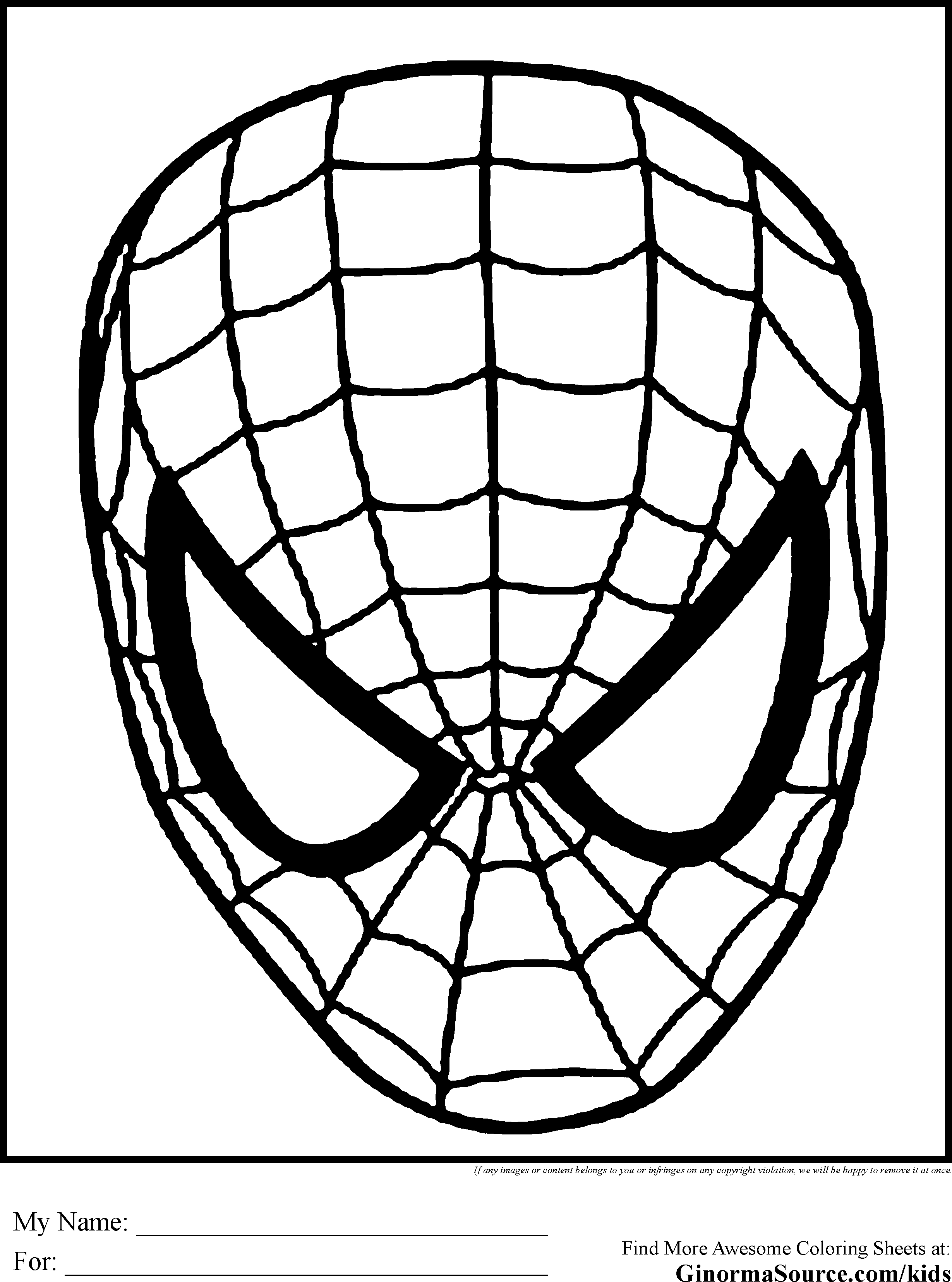Spiderman Clipart Black And White - Gallery