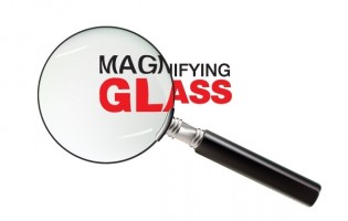 Magnifying glass vector Free vector for free download about (354 ...