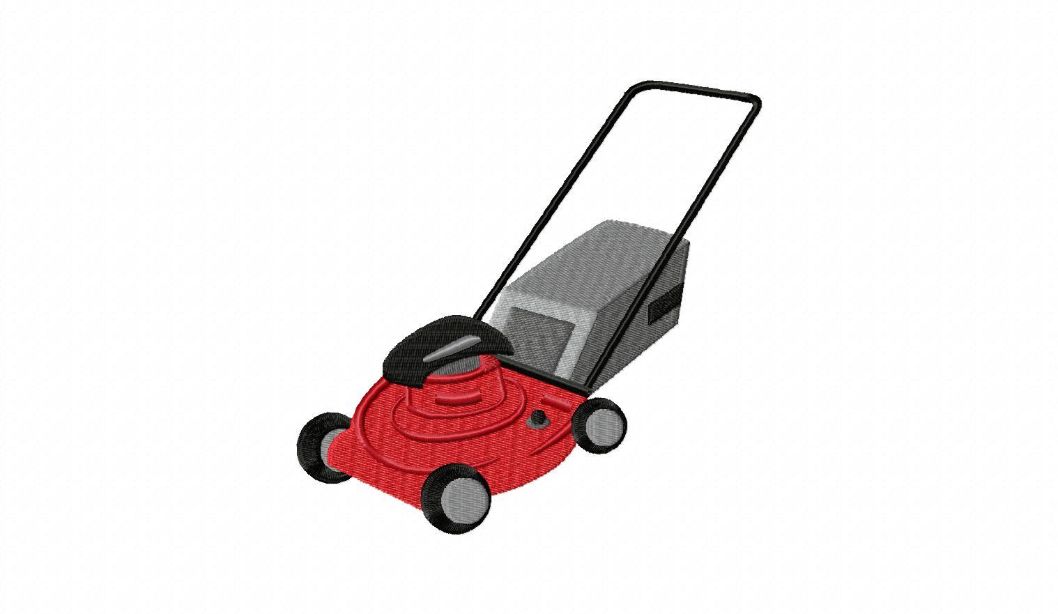 Cartoon Lawnmower - Cliparts.co