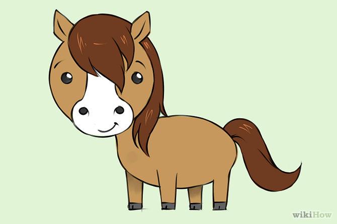 Cartoon Baby Horse - Cliparts.co
