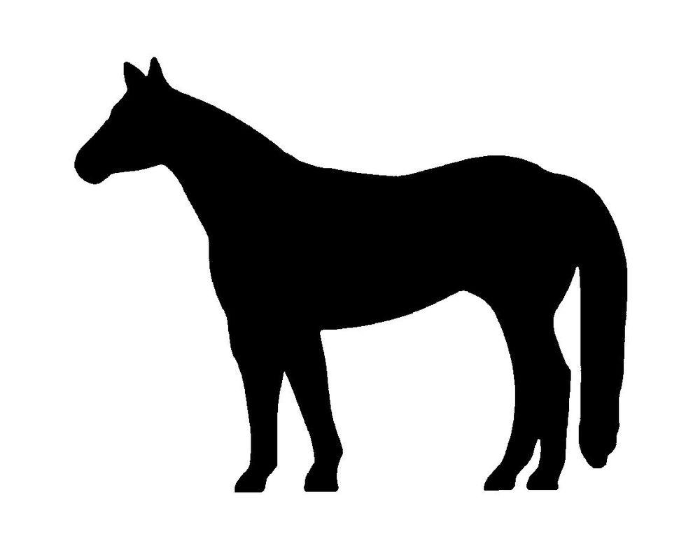 Quarter horse silhouette clip art