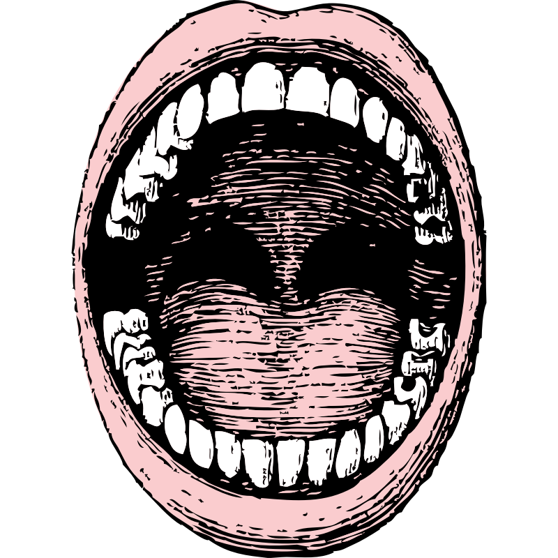 Open Mouth Clip Art - Cliparts.co