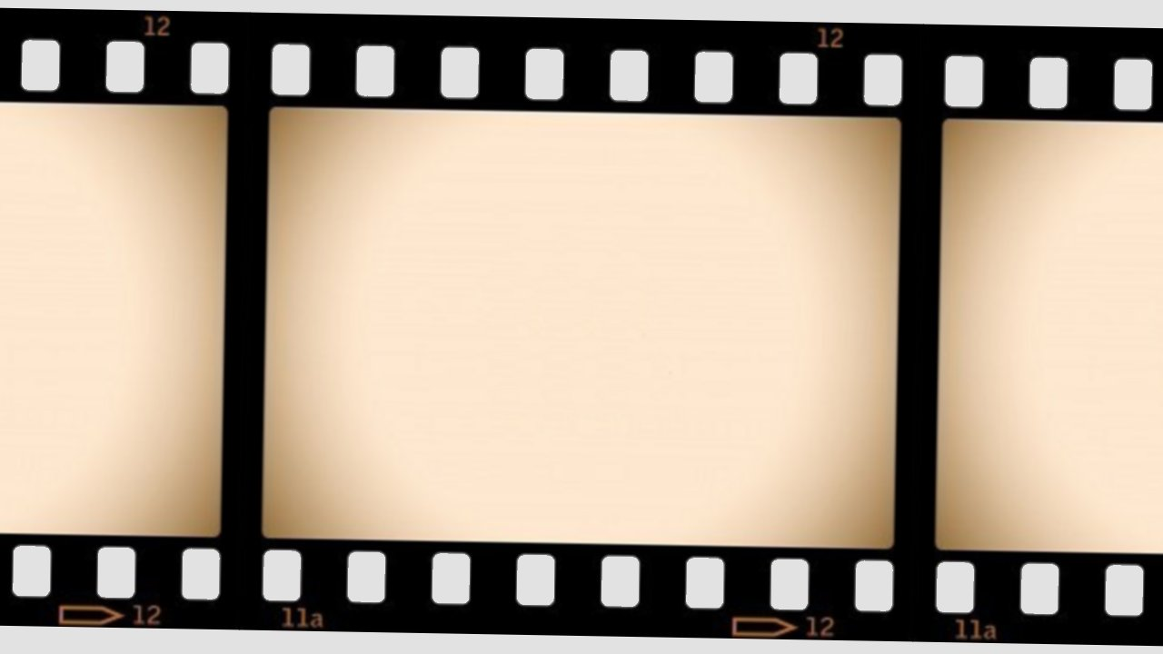 movie reel wallpaper border - photo #2