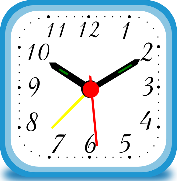 Clock Alarm clip art - vector clip art online, royalty free ...
