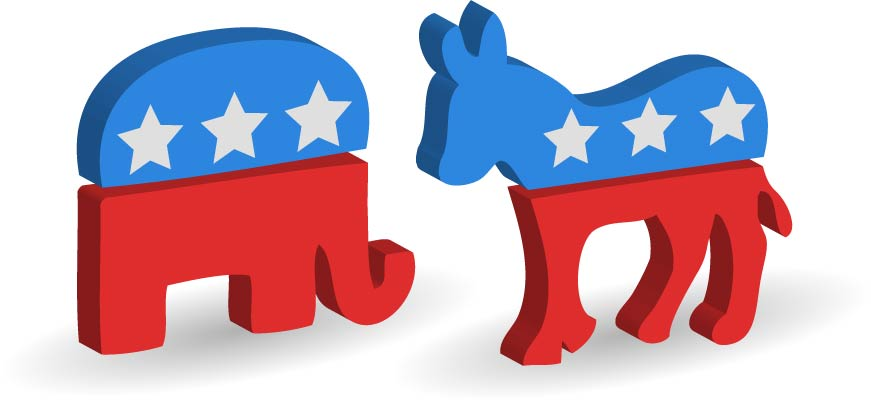 The Democratic Donkey and the Republican Elephant - Global English ...
