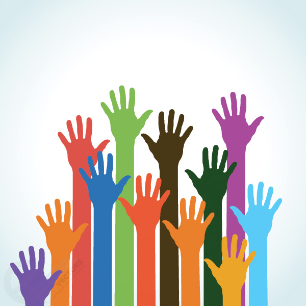 Reaching Hands Clip Art Hands Graphic - Clipar...