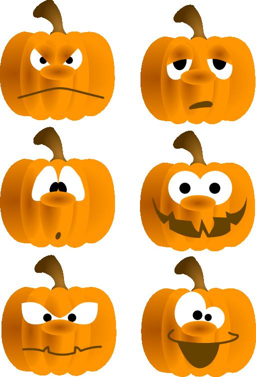 Pumpkin Faces Clip Art - ClipArt Best