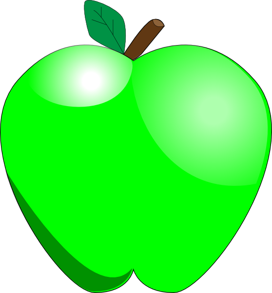 clipart apple pages - photo #15