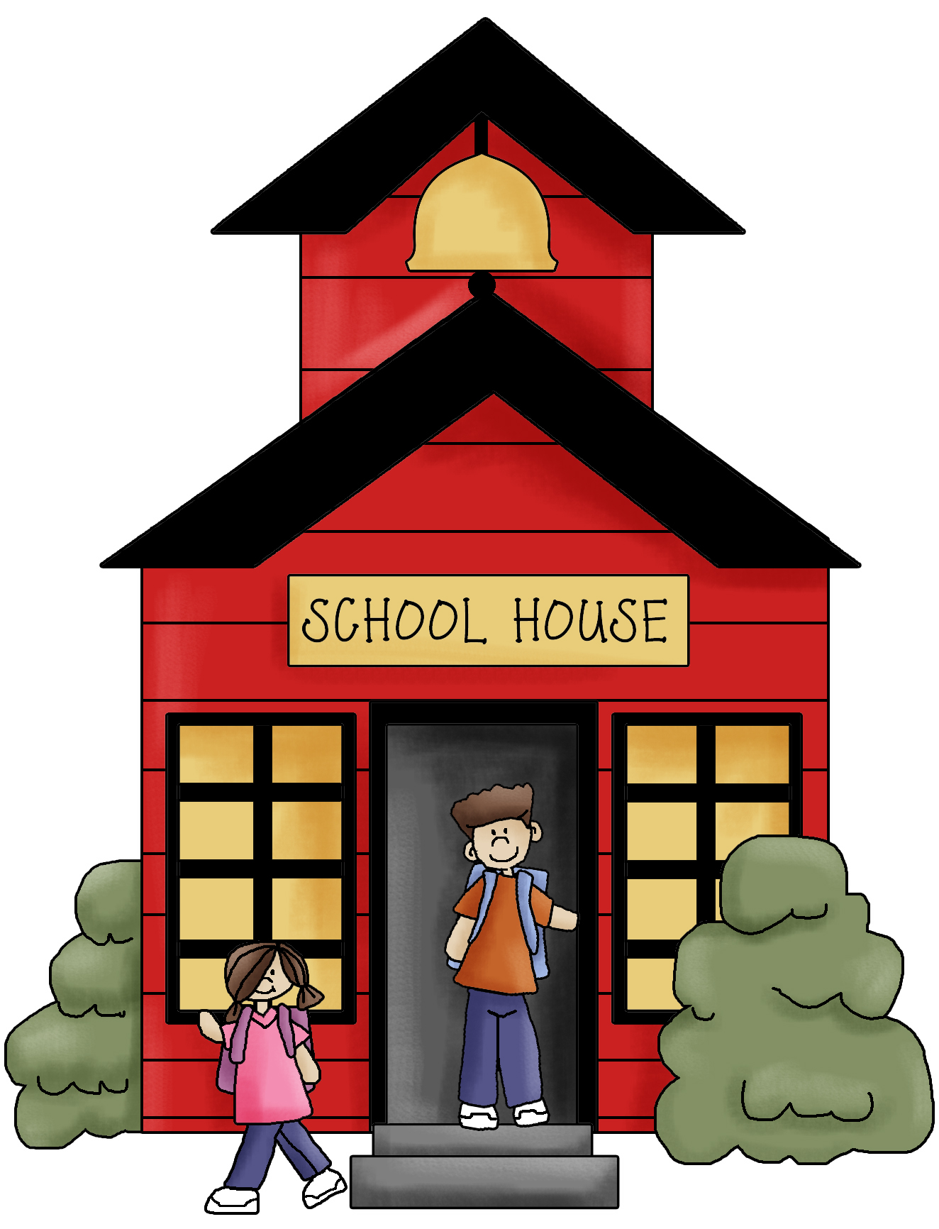 Pictures Of School Houses - Cliparts.co