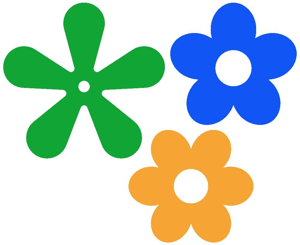 Petal Flower Outline Clip | Clipart Panda - Free Clipart Images
