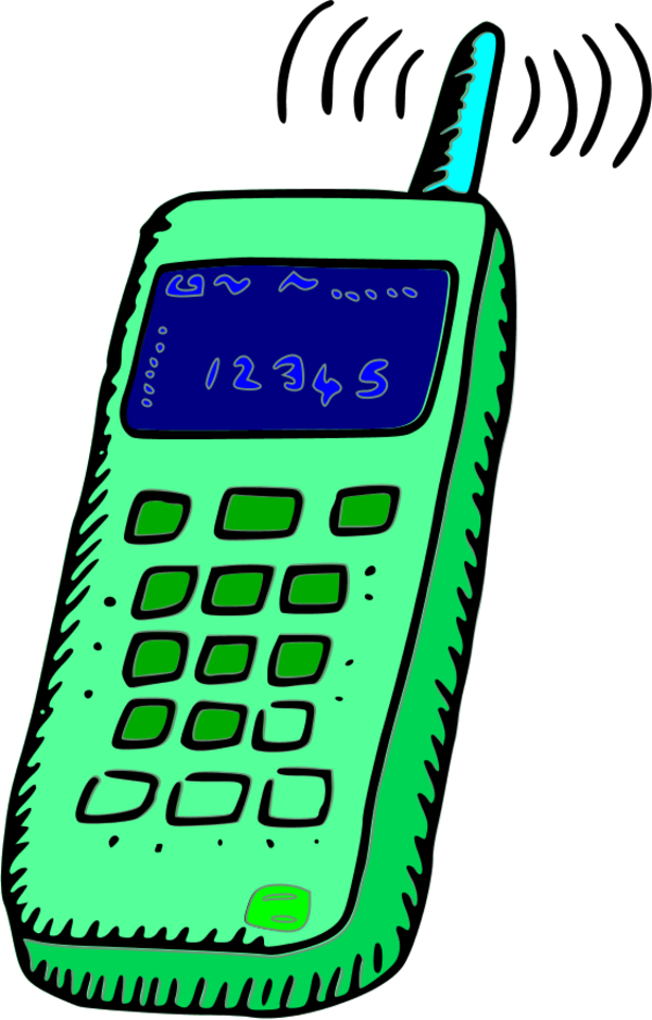 Cell Phone Clipart - Cliparts.co