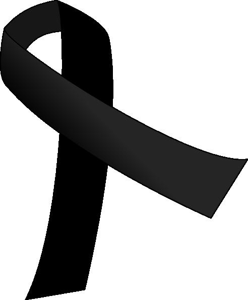 Black Ribbon clip art - vector clip art online, royalty free ...