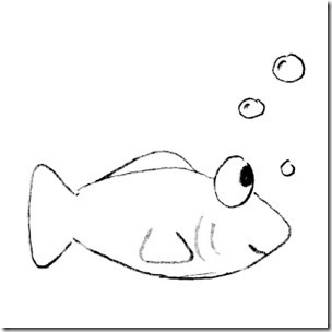Fish Clip Art Black And White