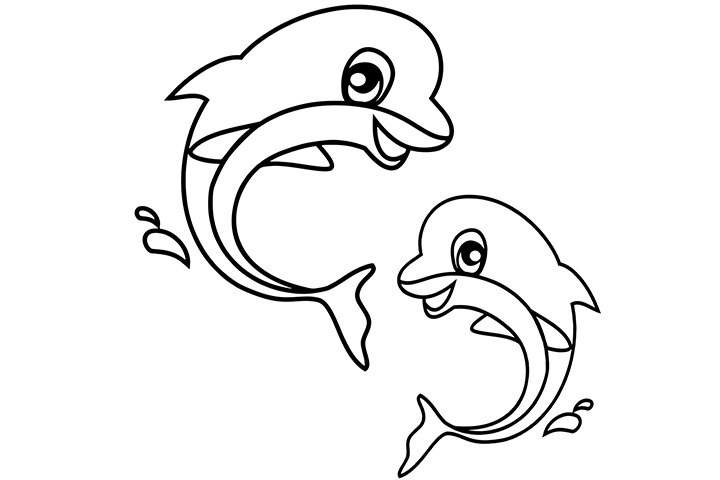 thinkprintableart holiday coloring pages coloring pages dolphins top 10 free printable sea animals coloring pages online - Coloring Pages Dolphins Printable