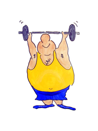 Funny Workout Cartoons - Cliparts.co
