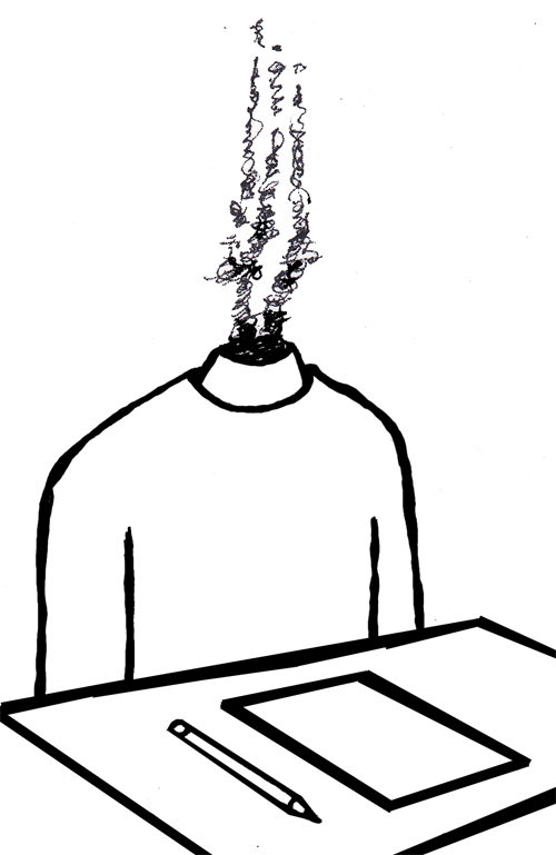 test anxiety clipart - photo #3