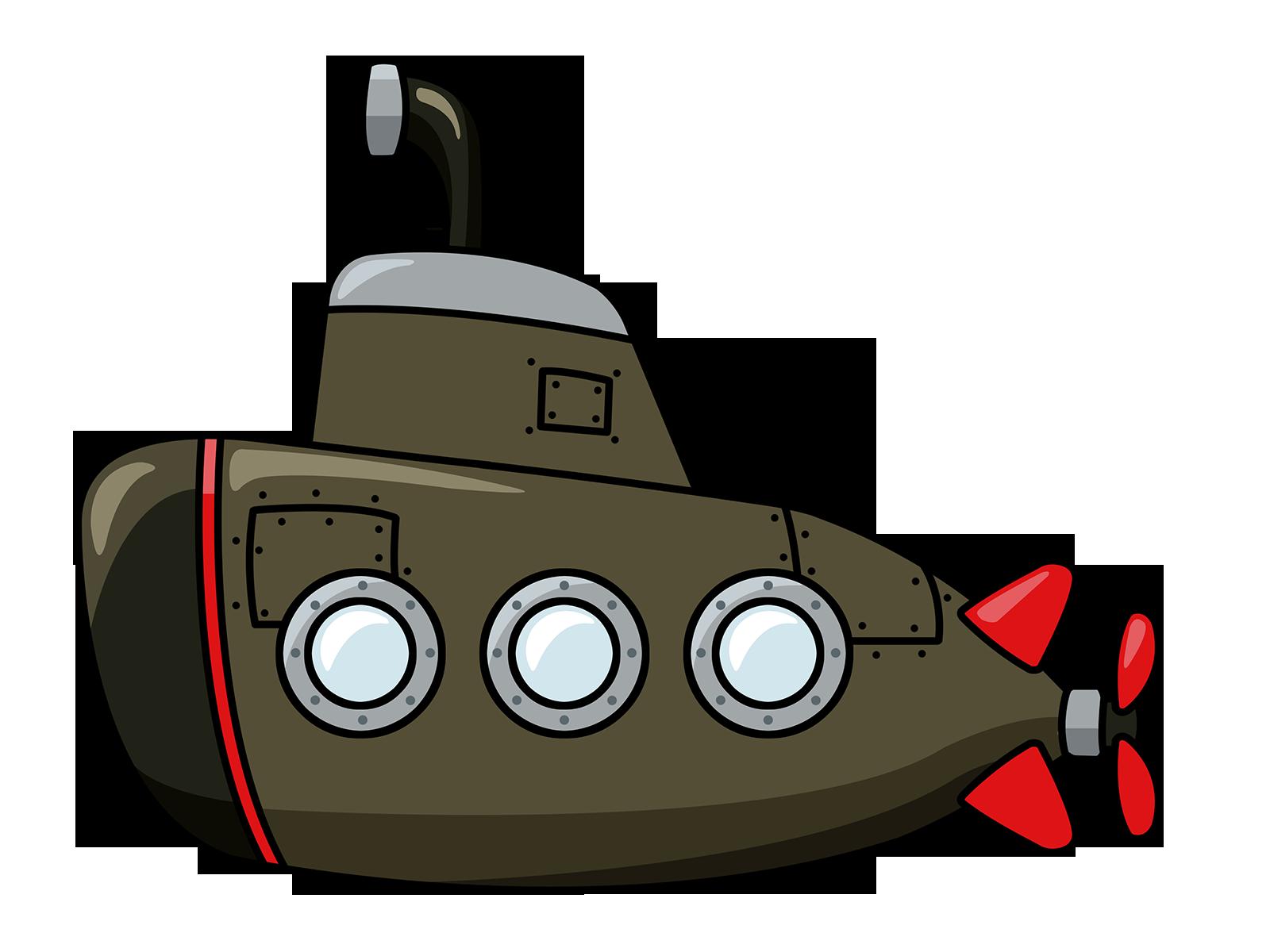 Cartoon Submarines - Cliparts.co