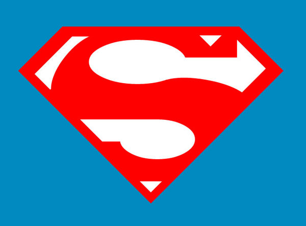 Flat Superman Logo Design Using Only CSS & HTML on Behance