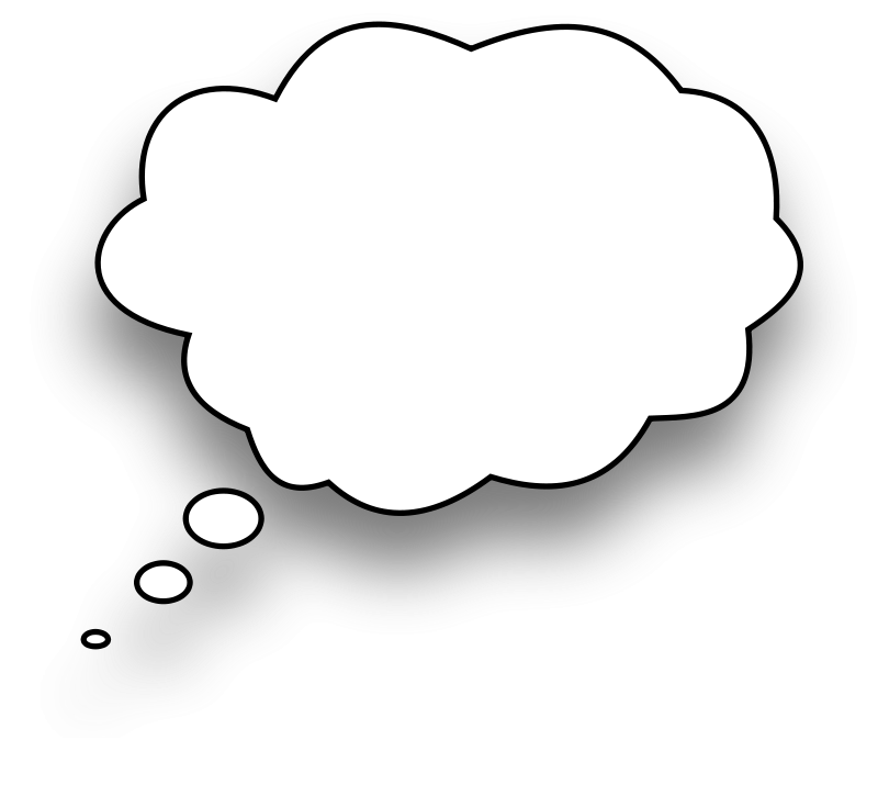 Thinking Bubble Png Thought Bubble Empty Png
