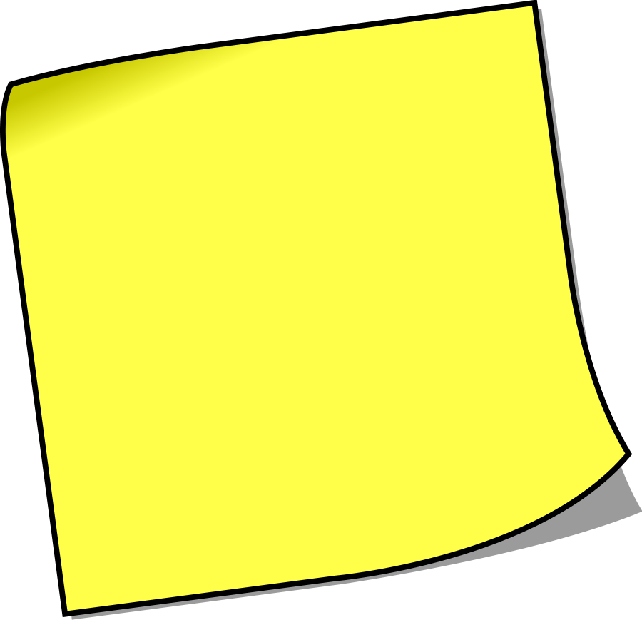 Yellow Notebook Paper Clipart - Cliparts.co