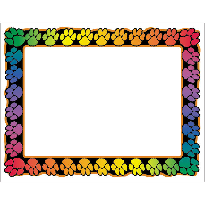 Paw Print Template - Cliparts.co