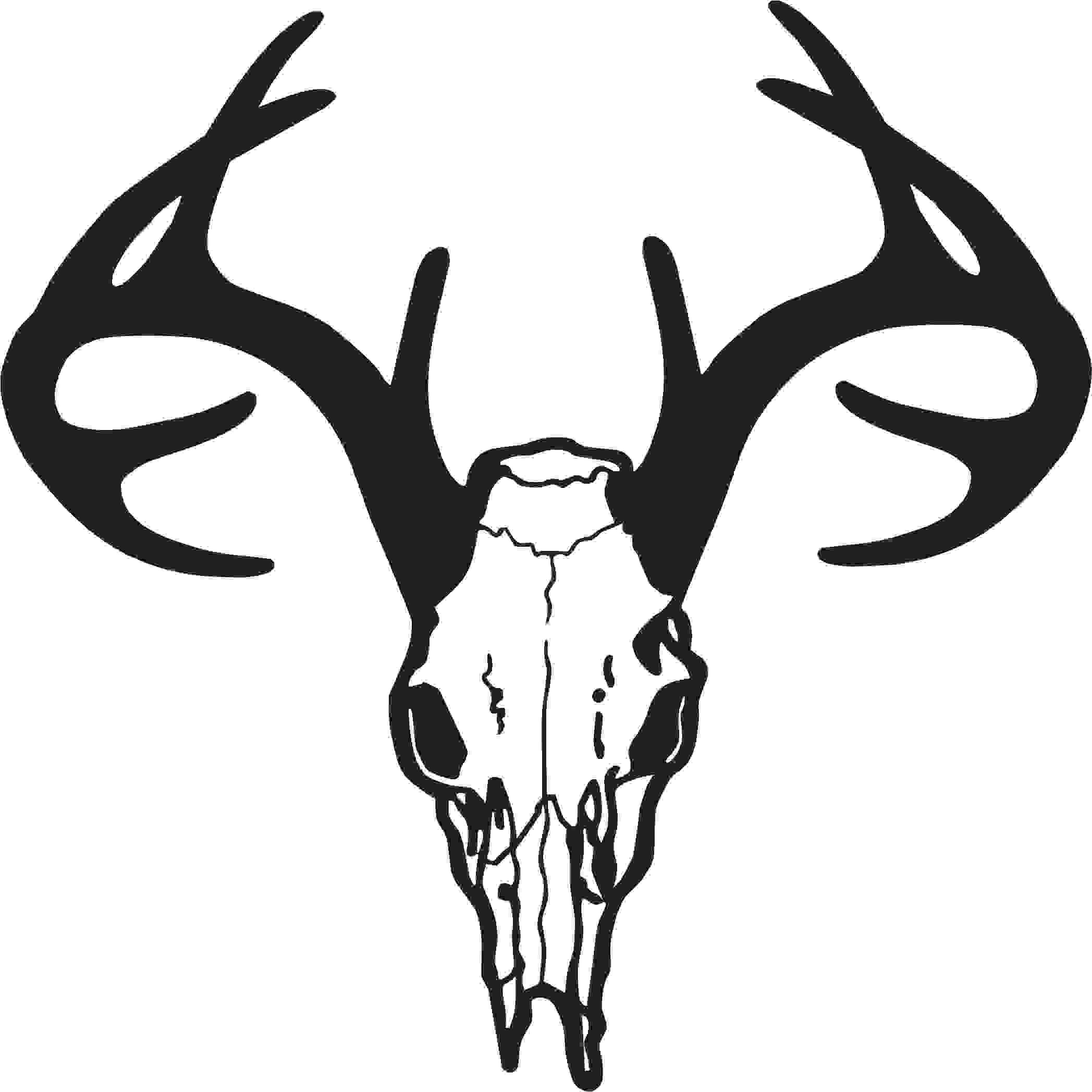 Deer Head Clipart Black And White | Clipart Panda - Free Clipart ...